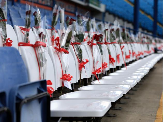 Tributes for the 96