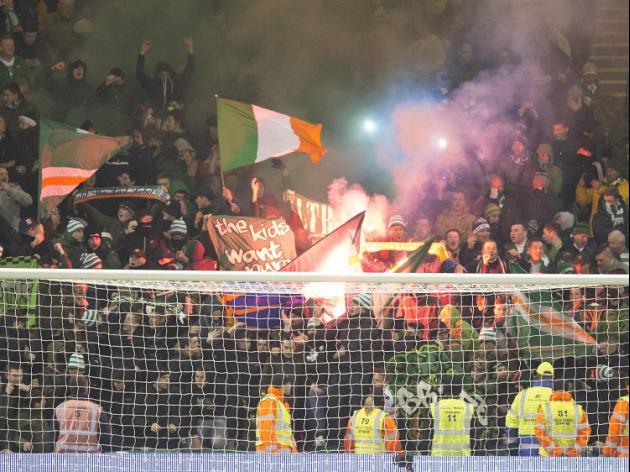 Celtic facing UEFA charge