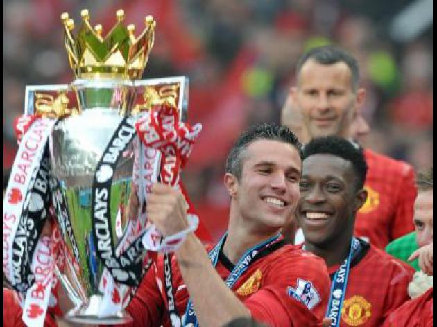 Manchester United's Robin Van Persie eyes further success
