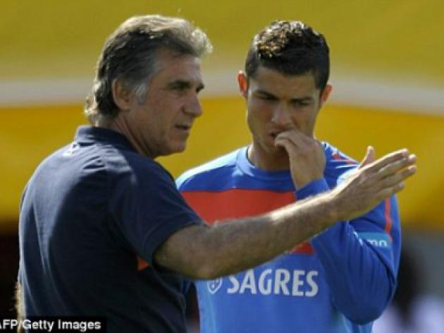 Portugal coach Carlos Queiroz returns to South Africa, scene of his pain