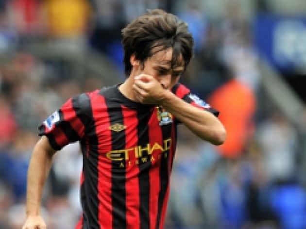 Silva heaps praise on Mancini