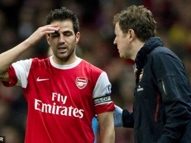 Cesc Fabregas Carling Cup final KO: Arsenal skipper 'should be fit to face Barcelona'