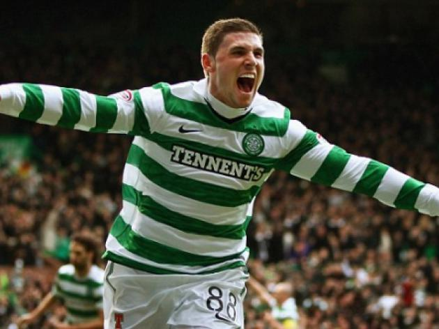 Celtic's Gary Hooper wins England Under 21 call-up