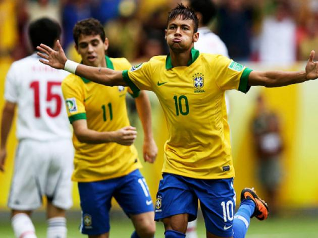 Brazil brush aside Japan in 3-0 Confederations Cup win