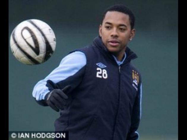 Manchester United v MANCHESTER CITY: Robinho could feature at Old Trafford