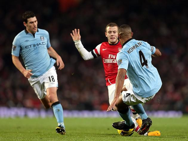I won't pull out of tackles - Kompany