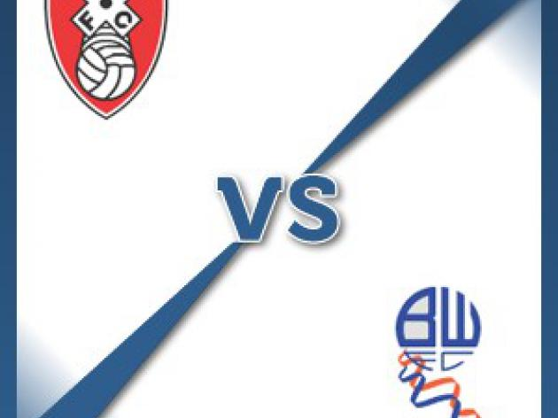 Rotherham V Bolton at The New York Stadium : Match Preview