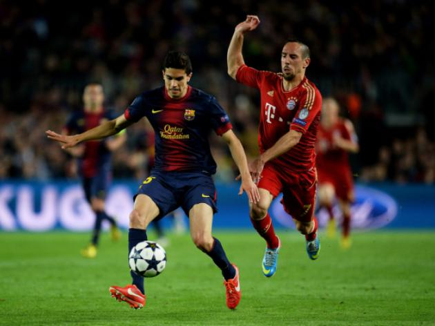 London Duo start loan battle for Barca defender Marc Bartra