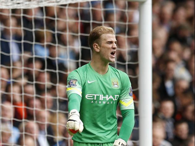 Hart calm about City 'stumble'