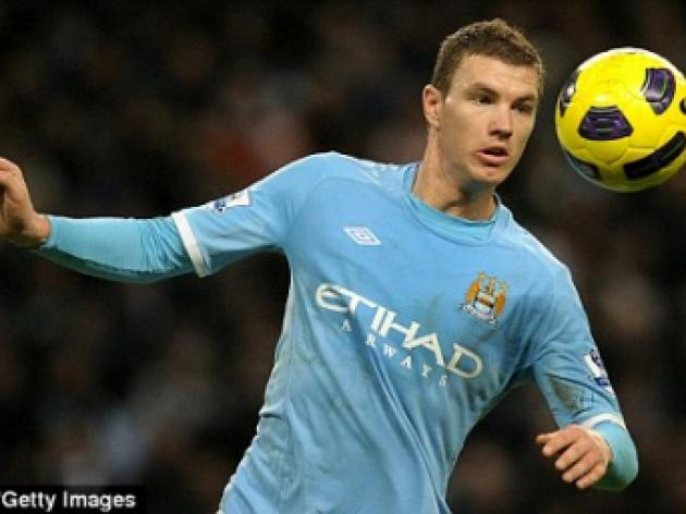 Aston Villa v MANCHESTER CITY: Edin Dzeko to come back in to side after cup absence