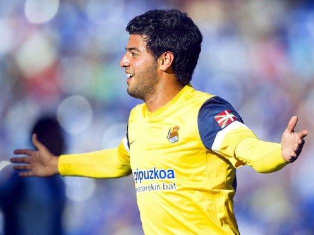 Real Sociedad want Arsenal's Carlos Vela to stay permanently