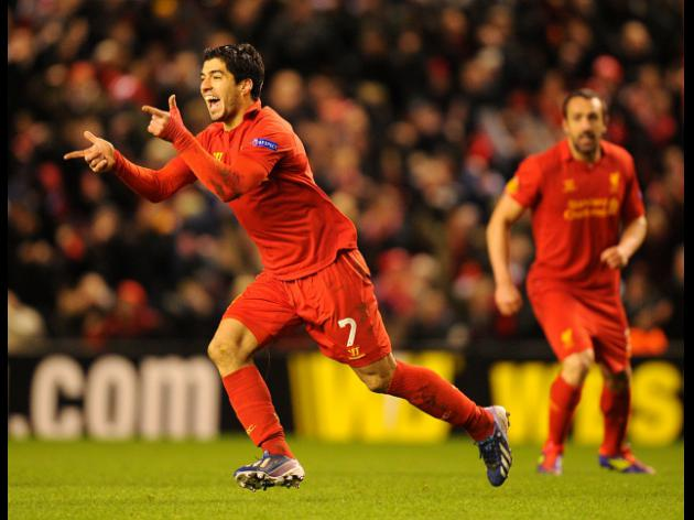 Luis Suarez's Top Five Liverpool goals so far this season