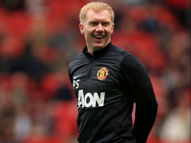 United still want Scholes