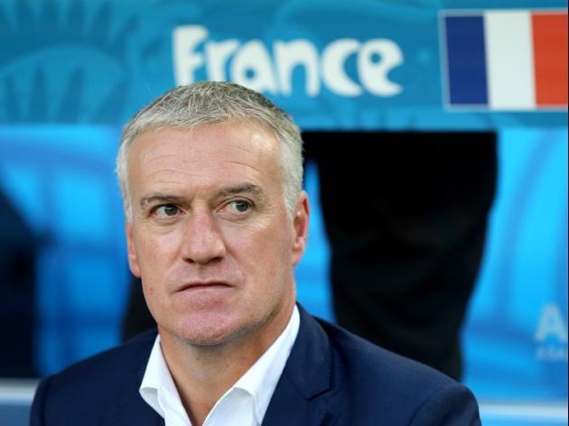 Deschamps pens France extension