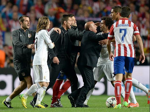 Simeone charged by UEFA
