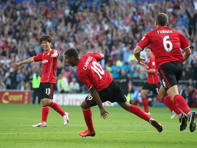 Cardiff fight back to stun Man City