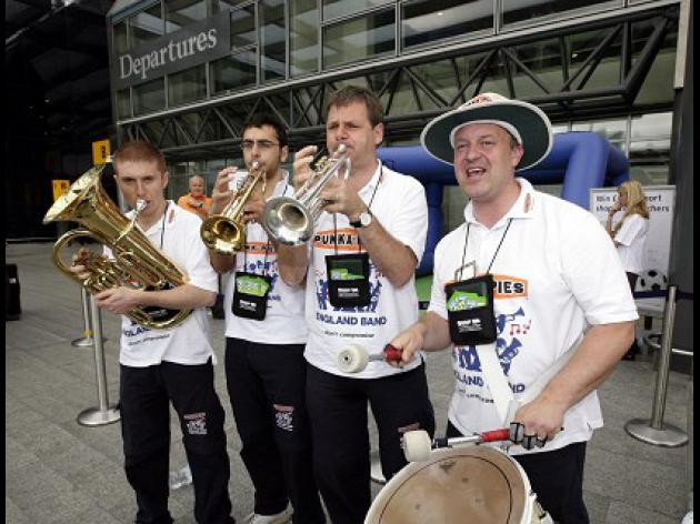 UEFA - England band can play on