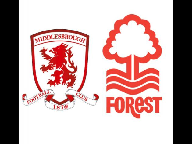 Match Preview:  Middlesbrough v Nottingham Forest