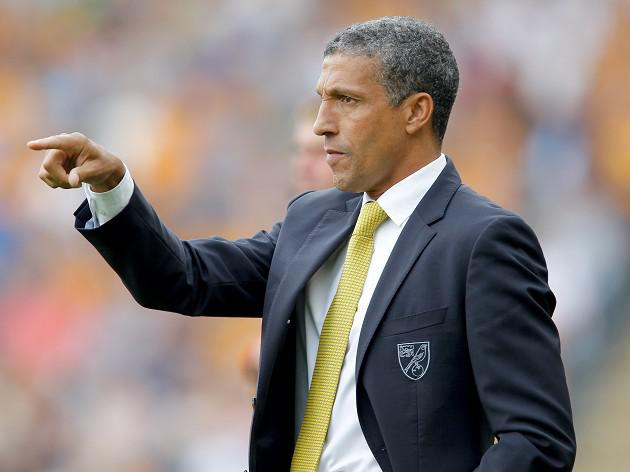 Hughton happy at Norwich