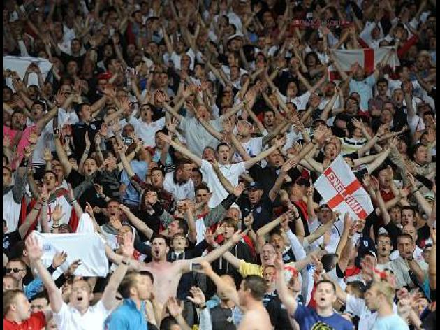 FA fined for England fans' conduct