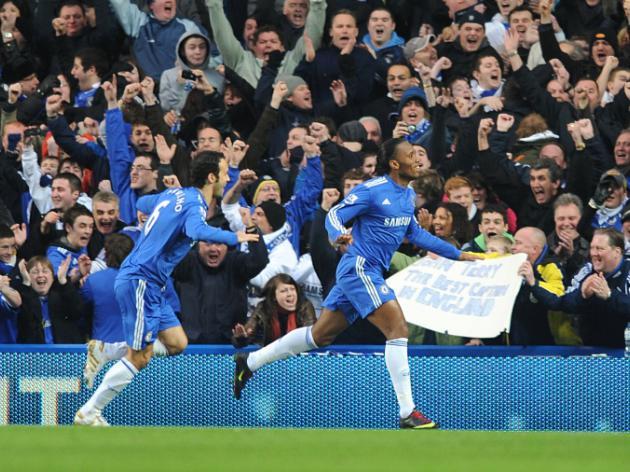 Chelsea V Stoke City - LIVE
