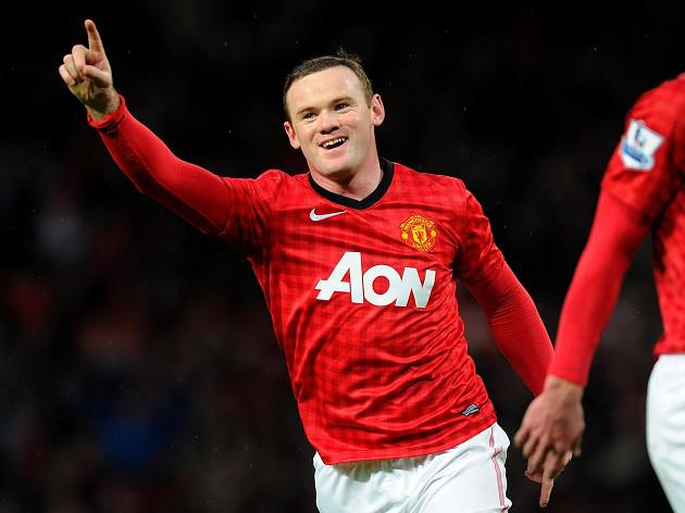 Rooney sends United 15 points clear