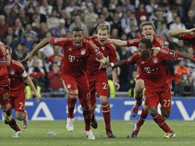 Champions League final - Bayern Munich stats