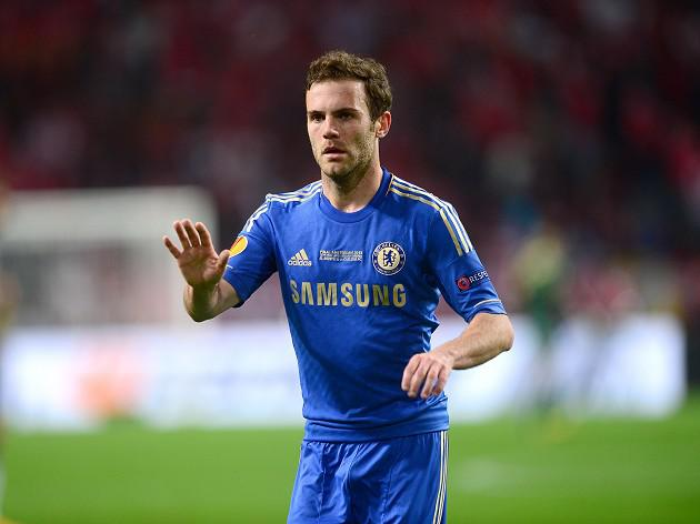 Mata sticking with Blues