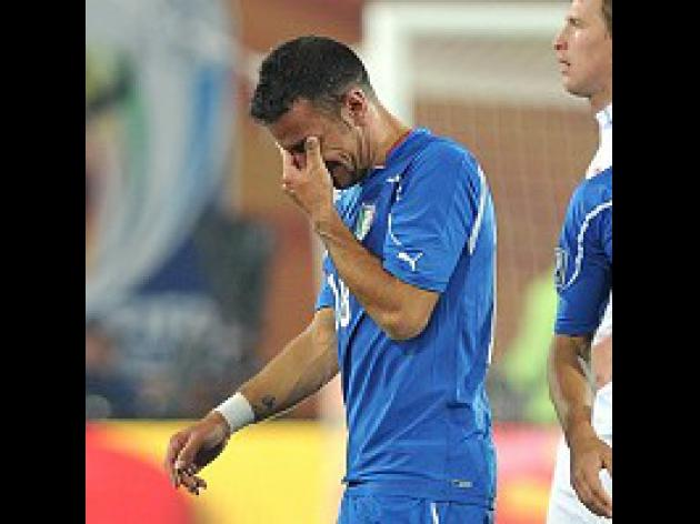 Italy faced with bitter reception