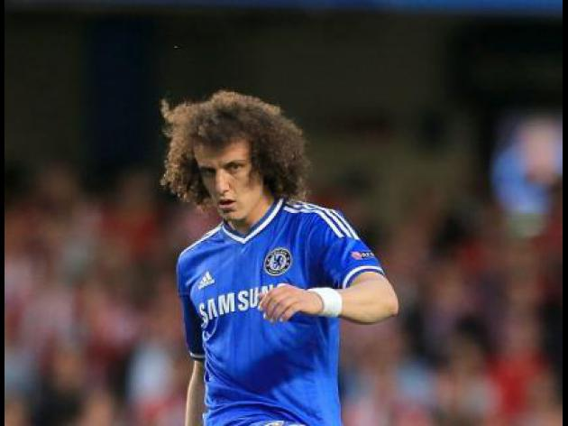 David Luiz trains with PSG for first time after World Cup following 50m Chelsea switch