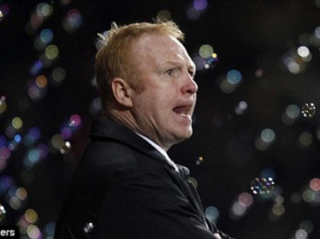 Alex McLeish believes Birmingham are paying the penalty
