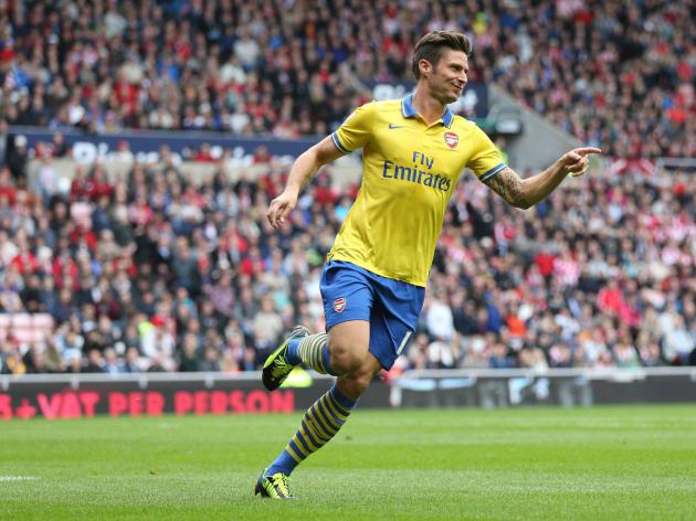 The rise of Arsenal's Olivier Giroud - from average target man to complete forward