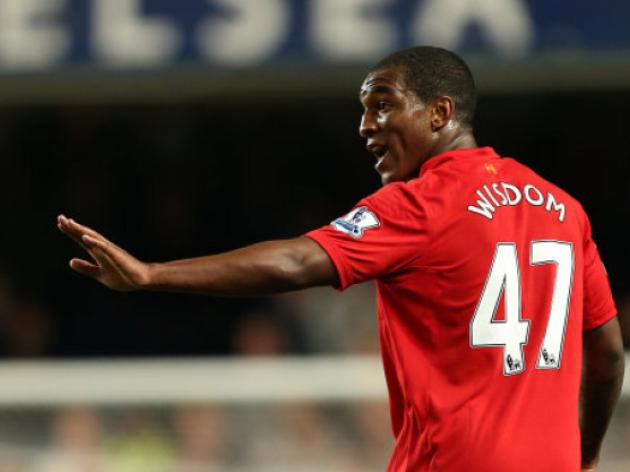 Liverpool's Andre Wisdom set for loan spell to Derby County