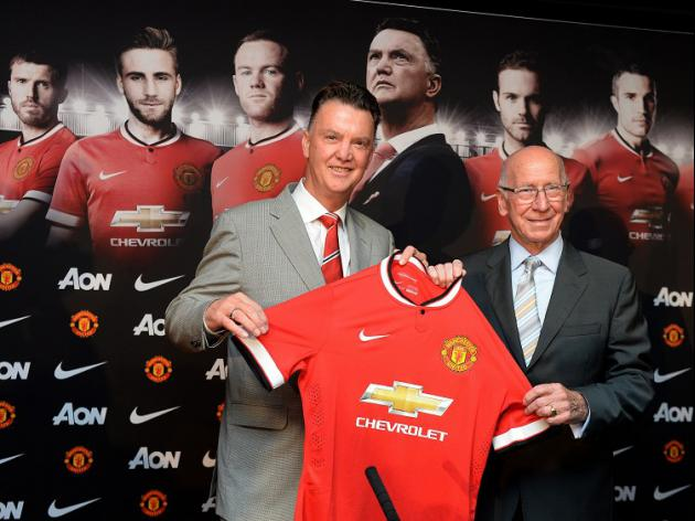 Charlton delighted with Van Gaal