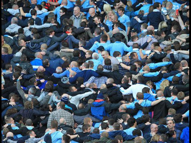 Report: Police clash with City fans