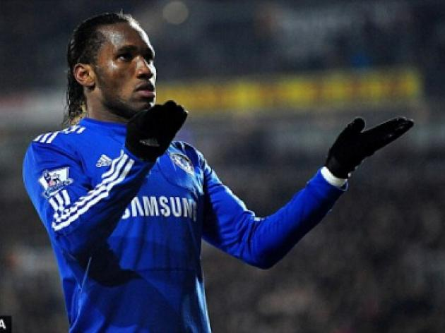 Chelsea's Didier Drogba is back from Africa and he's lost the villain tag