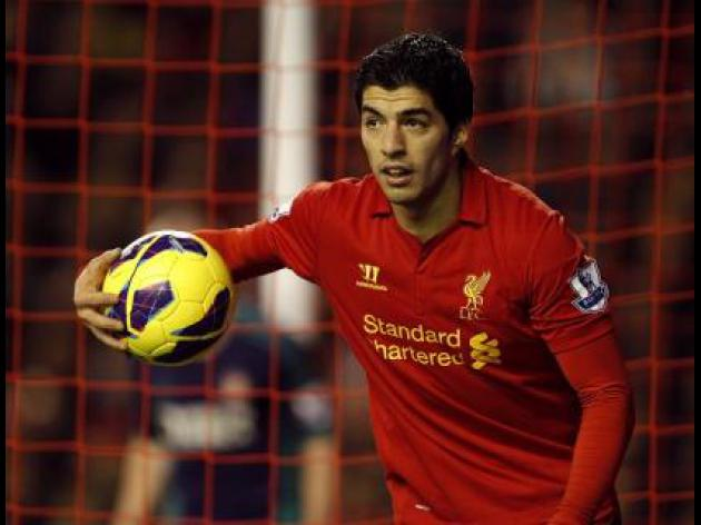 PFA Fans' Player of the Month: Luis Suarez, Robin Van Persie  Daniel Sturridge lead the way