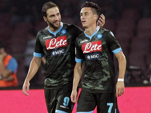 Benitez plays down Napoli hopes as rivals slip