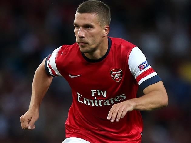 Podolski happy to end injury woe