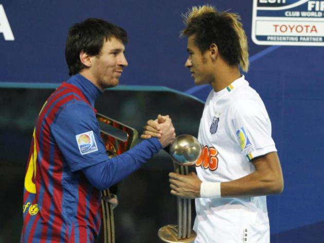 Messi Wants Neymar to Join Him at Barcelona#8207;