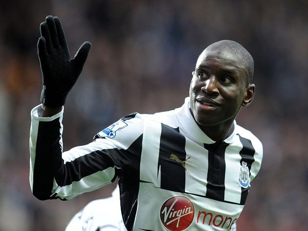 Chelsea sign Newcastle striker Demba Ba