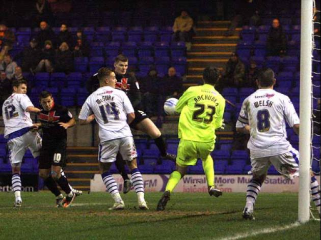Tranmere 0-2 Milton Keynes Dons: Report