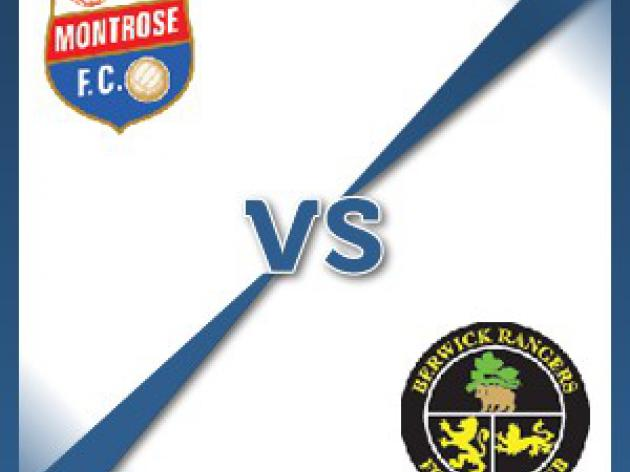 Montrose V Berwick Rangers - Follow LIVE text commentary