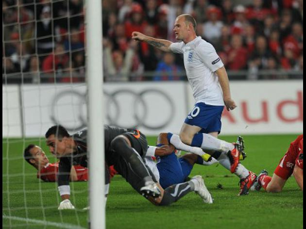Switzerland 1-3 England: Match Report