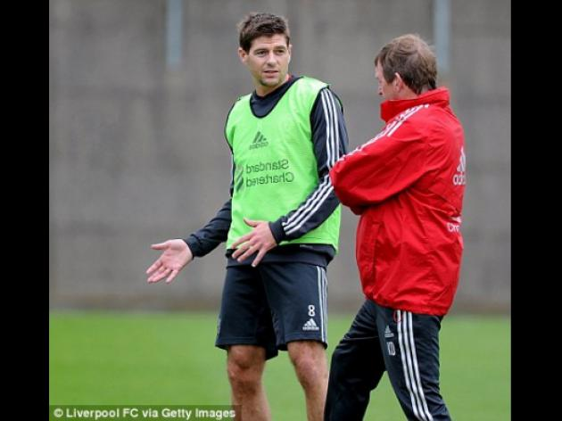 Kenny Dalglish considers Steven Gerrard for Brighton