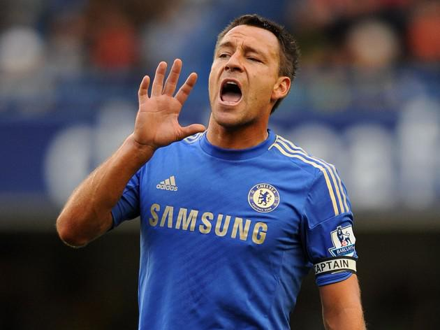 Terry back in Chelsea squad