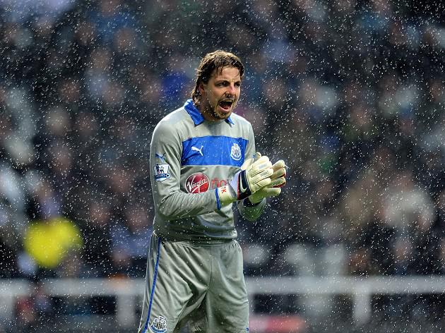 Newcastle goalkeeper Tim Krul could face five-week absence