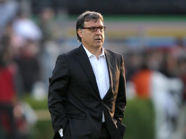 Barca boss Martino relishing Pellegrini clash