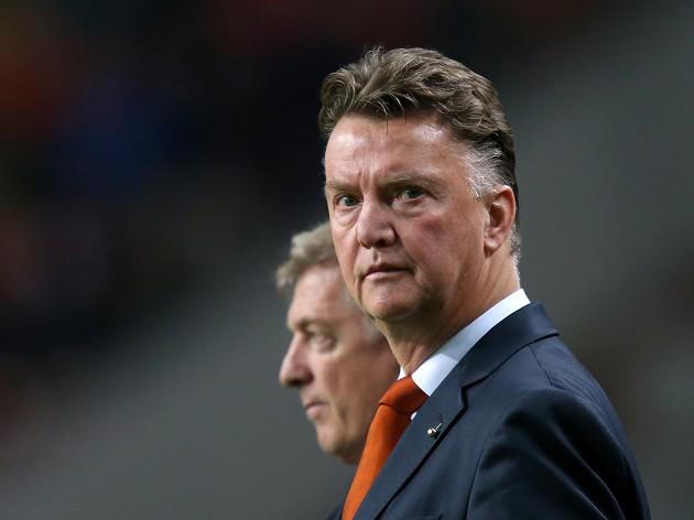 Battling Dutch delight Van Gaal