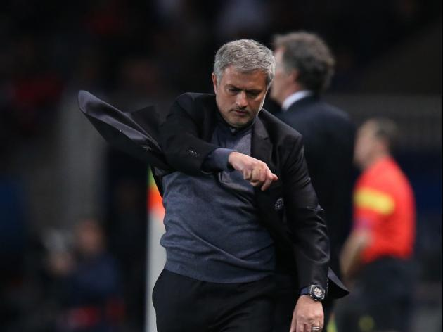 Mourinho unhappy with strikers
